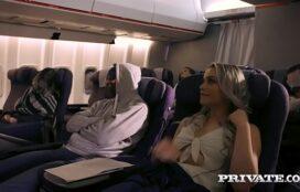 Famosa video sexo trepando no avião